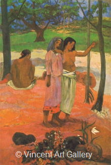 The Call by Paul  Gauguin