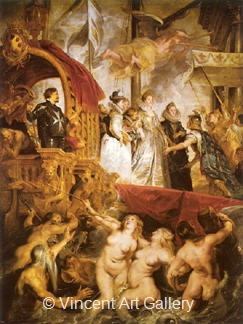 The Arrival of Maria de'Medici in the Harbour of Marseille by Peter Paul  Rubens