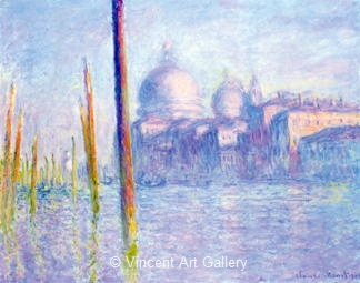 The Grand Canal, Venice by Claude  Monet