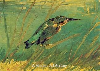 The Kingfisher by Vincent van Gogh