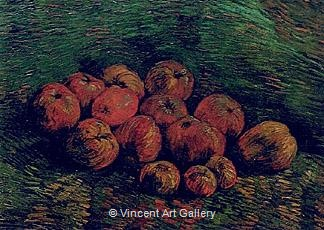 Still Life with Apples by Vincent van Gogh