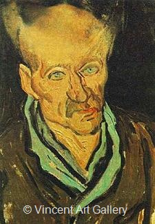 Portrait of a Patient in Saint-Paul Hospital by Vincent van Gogh